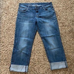 Kur from the Kloth Boyfriend Jeans